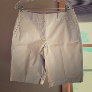 Ann Taylor, Khaki Boardwalk shorts